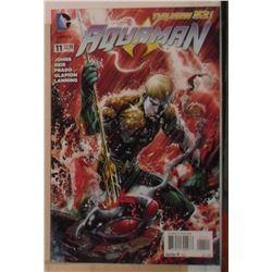MINT or near mint DC Comics Aquaman #11 September 2012 - bande dessinée neuve ou presque