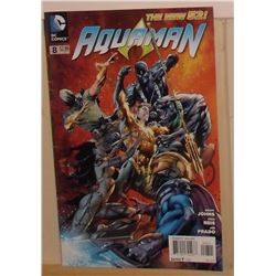 MINT or near mint DC Comics Aquaman #8 June 2012 - bande dessinée neuve ou presque