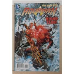 MINT or near mint DC Comics Aquaman #10 August 2012 - bande dessinée neuve ou presque