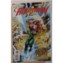 MINT or near mint DC Comics Aquaman #6 April 2012 - bande dessinée neuve ou presque