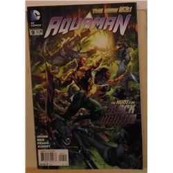 MINT or near mint DC Comics Aquaman #9 July 2012 - bande dessinée neuve ou presque