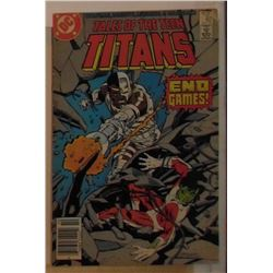 VERY OLD DC Comics Tales of the Teens Titans #82 October 1987 - bande dessinée très vieille