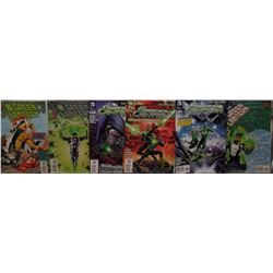 6 Green Lantern near mint or MINT comic books 1995 - 2012 Printed in CANADA Six  Bandes dessinées