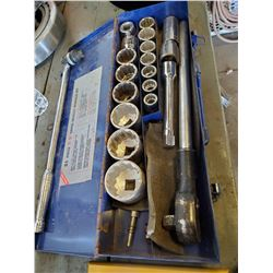 3/4 INCH DRIVE SOCKET WRENCH SET