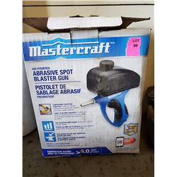 MASTERCRAFT AIR POWERED ABRASIVE SPOT
