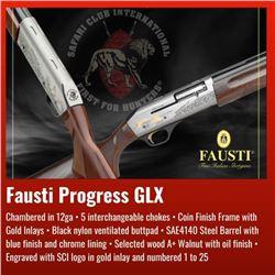 Fausti Progress GLX in 12ga SCI Shotgun of the year