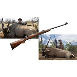 Eland Bull, Gemsbok and .375 H&H