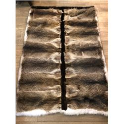 Raccoon Fur Throw Sponsored by Four Corners SCI