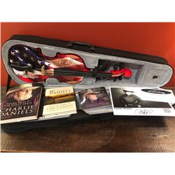 Autographed Fiddle by Charlie Daniels Books and DVD Sponsored by: Charlie Daniels