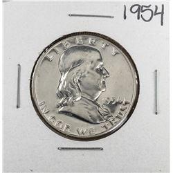 1954 Proof Franklin Half Dollar Coin