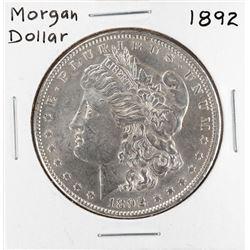 1892 $1 Morgan Silver Dollar Coin