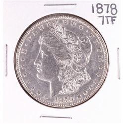 1878 7TF VAM 141 $1 Morgan Silver Dollar Coin