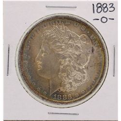 1883-O $1 Morgan Silver Dollar Coin Amazing Toning