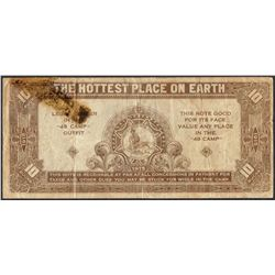1915 $10 Forty Nine Camp San Diego Legal Tender Obsolete Note