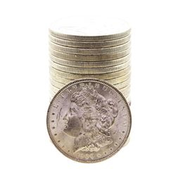 Roll of (20) Brilliant Uncirculated 1900 $1 Morgan Silver Dollar Coins