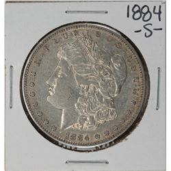 1884-S $1 Morgan Silver Dollar Coin