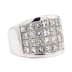 14KT White Gold 4.00 ctw Diamond Wedding Band
