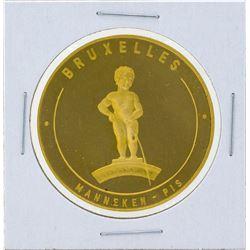 1958 Belgium World's Fair Gold Medal