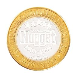 .999 Silver John Ascuaga's Nugget Sparks, Nevada $10 Limited Edition Gaming Token
