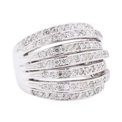 14KT White Gold 1.15 ctw Diamond Ring