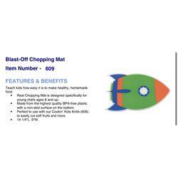 Blast Off Chopping Mat #609