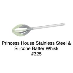 Stainless Steel & Silicone Batter Whisk #325
