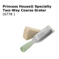Speciality Two Way Coarse Grater #6778