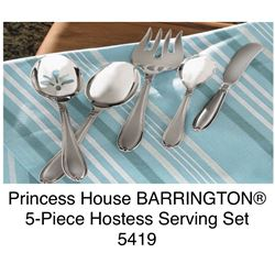 Barrington 5 piece Hostess Serving Set #5419