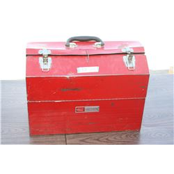 """Craftsman Metal Tool Box with Contents 18"""" W"""