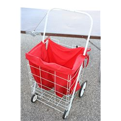 """4 Wheel Metal Cart 17"""" W by 14"""" D by 28"""" T"""