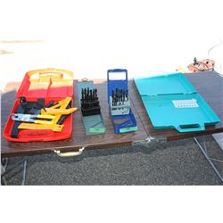 Partial Drill Bit Sets, Cutters, Floor Tools and Misc