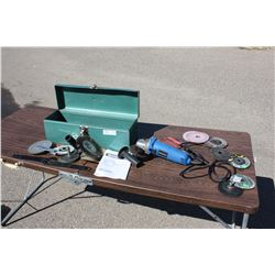 Mastercraft Angle Grinder with Accessories