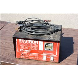Esstron 20 Amp Battery Charger (Working but Missing Gauge)