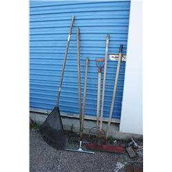 Mixed Lot of Garden Tools