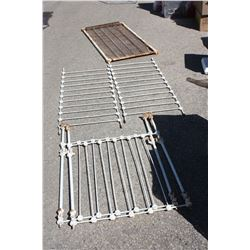 """Raw Iron Bed Frame 51 by 27 by 39"""" T"""