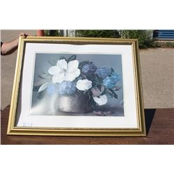"""Picture in Frame 37"""" x 30"""" W"""