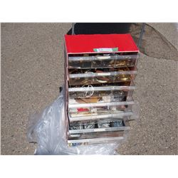 """Organizer with Misc Key Pins, Buckles and Misc 28"""" T"""