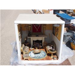 Shadow Box Living Room Display