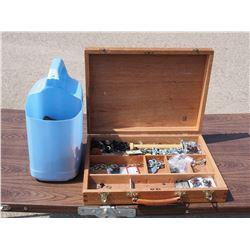 Wooden Box Plus Hardware