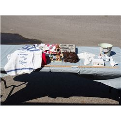 Decorative Items, Apron and Misc