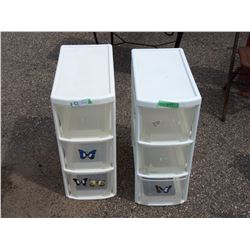 """2X THE MONEY - Plastic Organizers 10 by 20 by 25"""" T"""