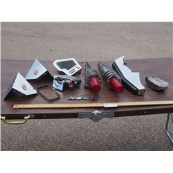 Misc Automotive Parts, and Pieces of Sold Wing Motor Bike