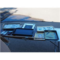 Misc Serving Trays and Picture Frames