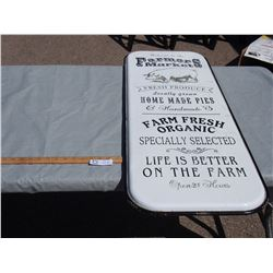 Farmers Market Repo Sign 41 by 15.5""