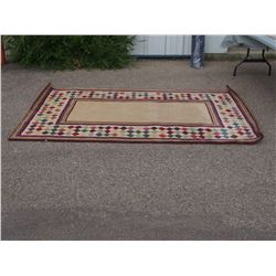 100% Hand Tufted Wool Area Rug 5ft by 8ft