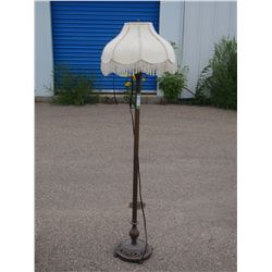 "Floor Lamp with Shade 62"" T"