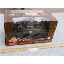 The Ultimate Solider Xtreme Detail WWII U.S M4 Sherman Tank 1:18 N.I.B