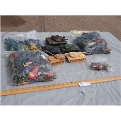 Plastic Army Related Toy Figurines