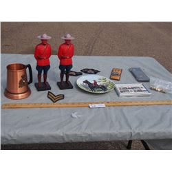Collection of RCMP Related Items