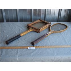 2X THE MONEY - Vintage Wooden Rackets